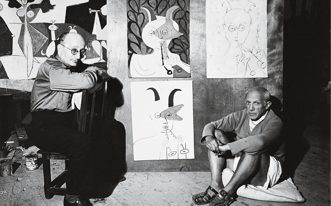 Picasso and Sabartés, forever friends