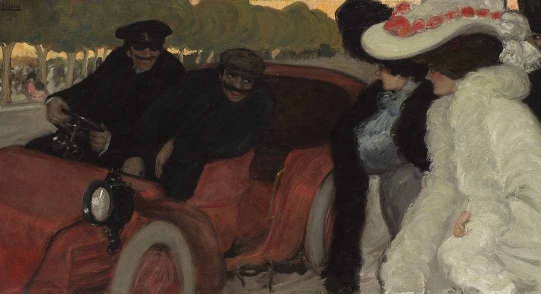 The Motor Car in Catalan Art