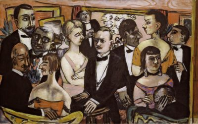 Max Beckmann: paradise lost and the strangeness of exile