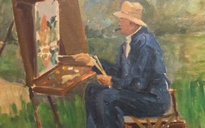 Churchill, Hitler, Eisenhower… painters
